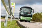 Test, MAN, Lion's Regio C, Linienbus, Überlandbus, Reisebus, fahrend, Bushaltestelle, Haltestelle