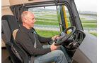 Testfahrer, Daimler Trucks, Hans Luft, Testzentrum, Cockpit
