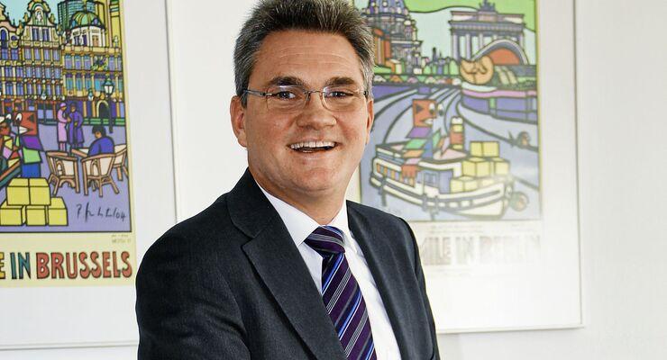 Thomas Hailer, Geschäftsführer des Deutschen Verkehrsforums