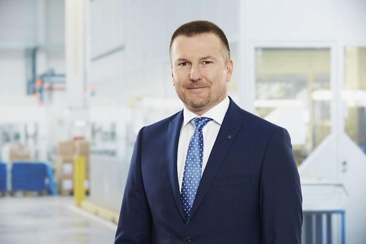 Thomas Piller, geschäftsführer Idem Telematics, ein Tochterunternehmen von BPW