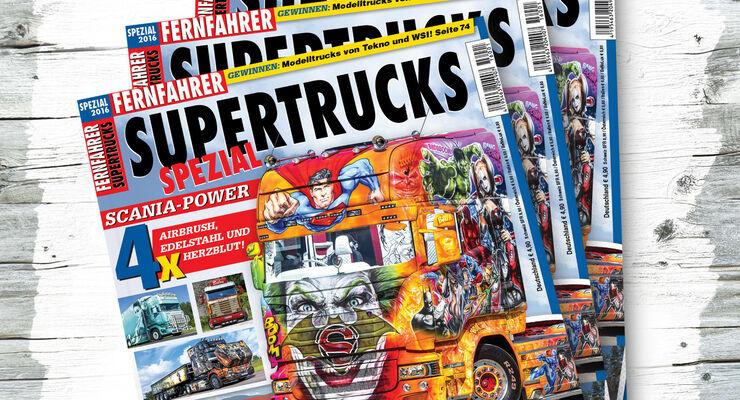 Titel von FERNFAHRER Supertrucks 2016
