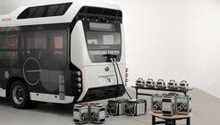 Toyota Honda Moving e Wasserstoff-Bus