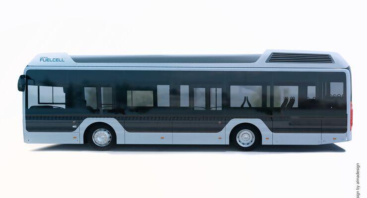 Toyota vertreibt die Brennstoffzellen-Komponenten seines Sora-Wasserstoffbusses an Caetano Bus in Portugal