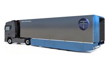 Trailer Dynamics Luftleitsysteme Aerodynamik Flaps E-Trailer E-Achse