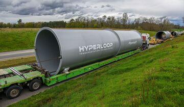 Transportröhren von Hyperloop