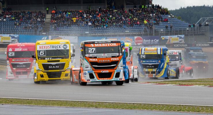 Truck Grand Prix 2017 Zusammenfassung Regen Verschleierte