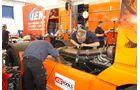 Truck-Grand-Prix, Truck Race, Lkw, Reparaturen, Fahrerlager, Lenz