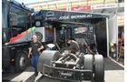 Truck-Grand-Prix, Truck Race, Lkw, Reparaturen, Fahrerlager, MAN