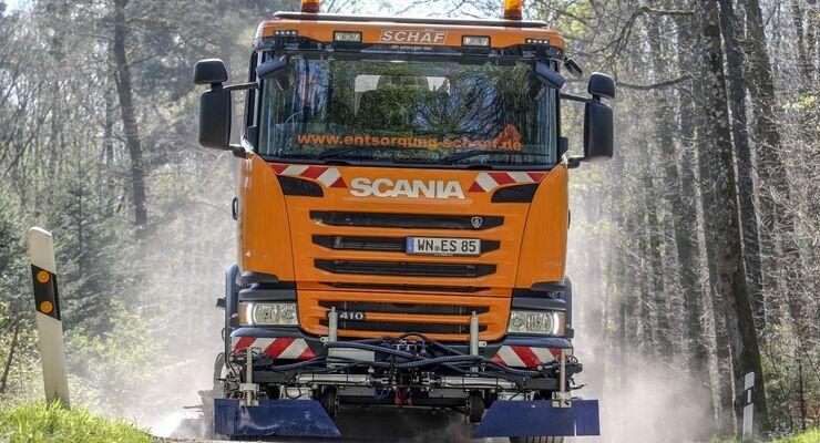 Truckjob Kehrmaschine
