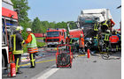 Unaufmerksamkeit als Unfallursache, Polizei, Unfall