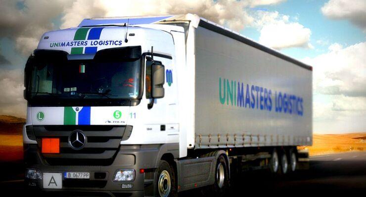 Unimasters Logistics, Lkw, Bulgarien, Varna, 2012