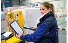 Unterwegs mit dem Kühlzug, Barcode-Scanner