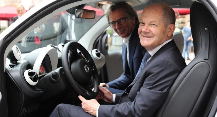 Urbane Mobilität: Hamburg und Daimler AG intensivieren Partnerschaft