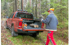 VW Amarok Canyon 2.0 TDI, Ladeboden