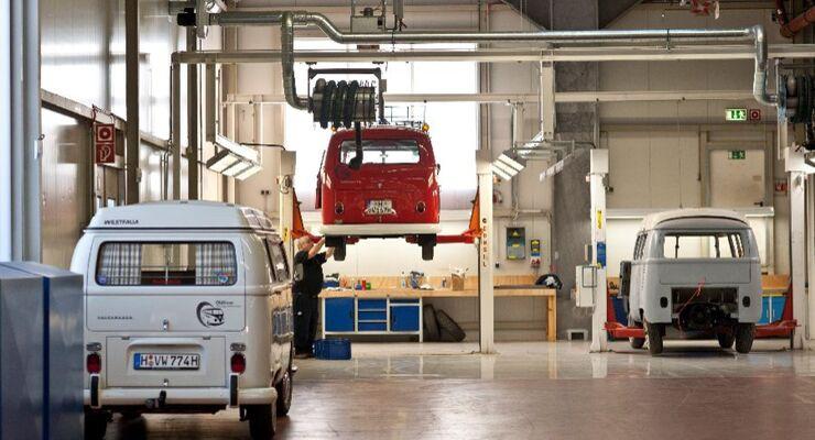 VWN Oldtimer VW Bulli Werkstatt