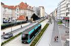 Van Hool Exqui-City, Fahrspur, Metz