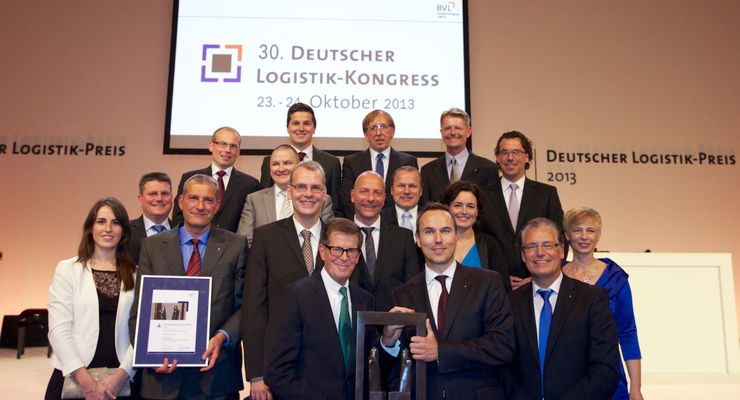 Verleihung, BVL, Logistik-Preis 2013