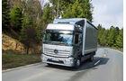 Verteiler-Lkw von Mercedes, Hochdach, Fernlinieneinsetze