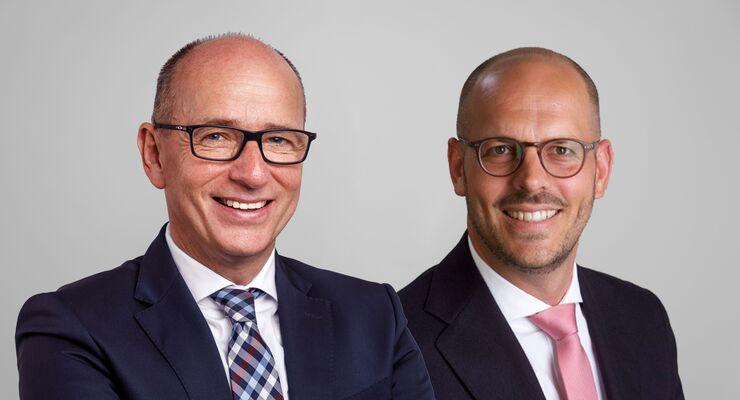 Volker Sauerborn und Sven Eisfeld wirken ab 1. November 2019 als COO CL und Managing Director Germany bei Hellmann Worldwide Logistics.
