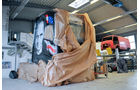 Volvo Johnny Cash, Supertruck, Entstehung, Reperatur, Restaurationsarbeiten