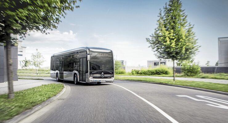 Vorschau IAA Daimler Buses – Weltpremiere eCitaroPreview IAA Daimler Buses – World Premiere eCitaro