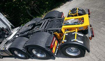 Wallek Schwerlast Transport Tieflader Fahrzeugbau Zink