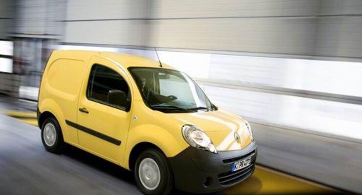Werk: der Renault Kangoo Rapid LPG