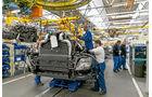 Werksvisite bei DAF, Motoren, Montage