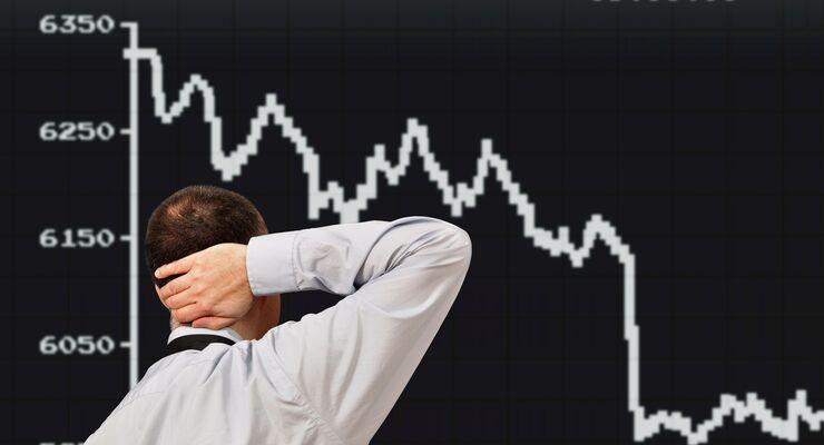 Wirtschaft im Abschwung