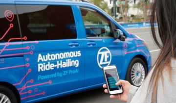 ZF Autonomous Ride Hailing