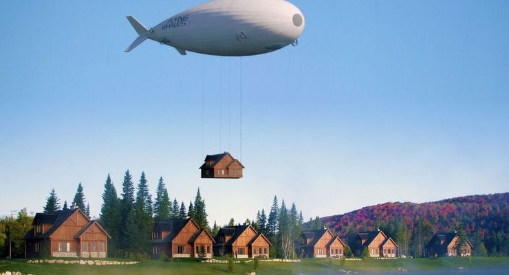 Zeppelin, fliegender Wal, Skeleton Technologies