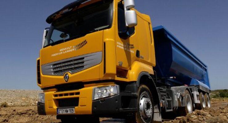Zwei neue Renault Premium Lander