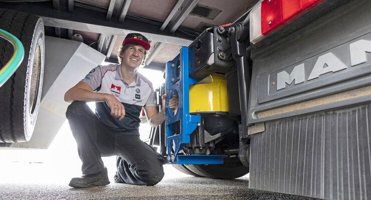 co2, truck, race, etrc, bio diesel