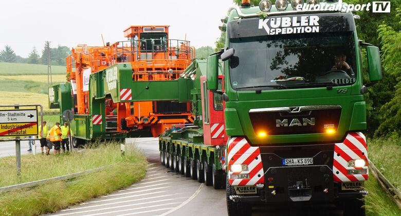 eurotransportTV Brammentransporter