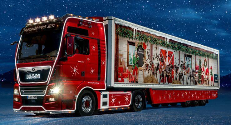 Bildergebnis für weihnachts lkw bilder
