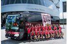 mannschaftsbus, mercedes, fußball, eishockey, handball, daimler